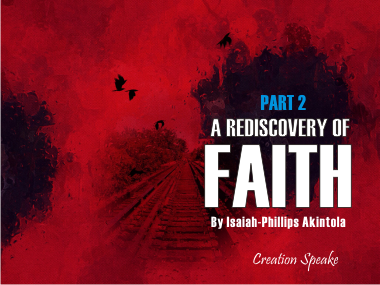 Faith by nature is a powerful movement towards the preferred position of the Spirit. Detaching from what we have learned and experience from our previous walk with God can be highly challenging if our orientation does not change drastically